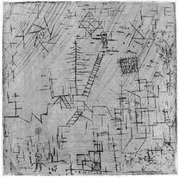 Paul Klee-Gaukler Im April (Juggler In April)-1928