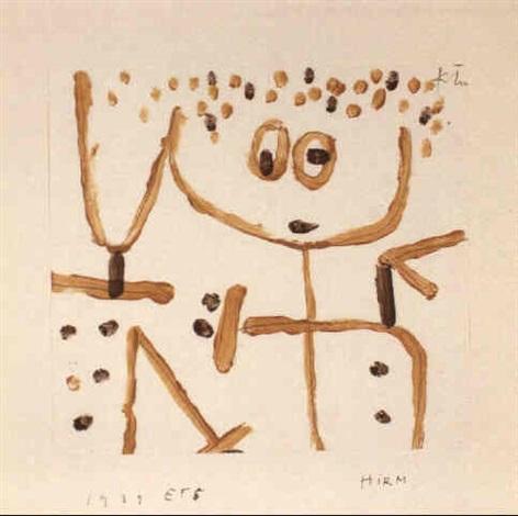 Paul Klee-Hirm-1939