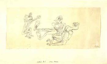Paul Klee-Drei Hexen (Three Witches)-1927