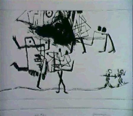 Paul Klee-Zweikampfe (Duell)-1933