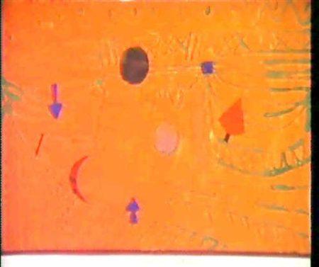 Paul Klee-Spiel Auf Saturnrot-1923