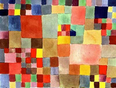 Paul Klee-Flora Auf Sand-1927
