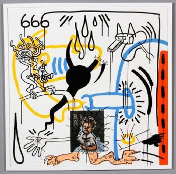 Keith Haring-Keith Haring - Apocalypse VIII-1988