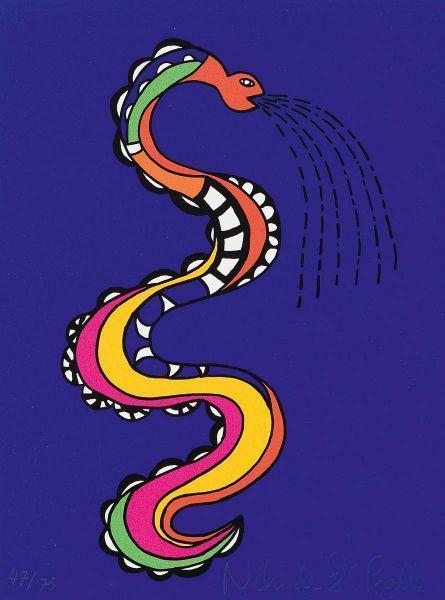 Niki de Saint Phalle-Schlange-