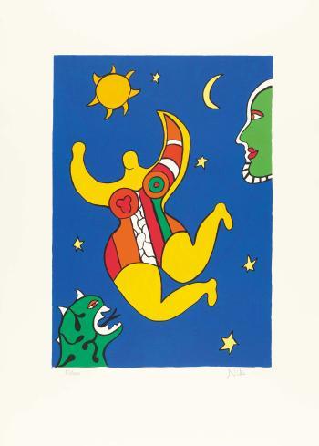 Niki de Saint Phalle-Nana-