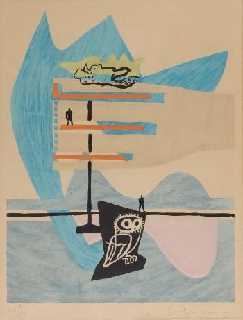 Le Corbusier-Aus: Le Poeme de langle droit-1955