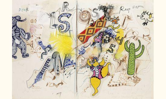 Niki de Saint Phalle-Dear Larson-