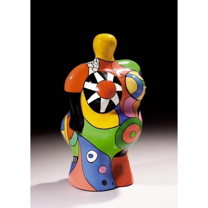 Niki de Saint Phalle-California Nana (La californienne), (Soleil), (Vase Nana)-2001