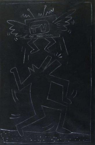 Keith Haring-Keith Haring - Subway Drawing-