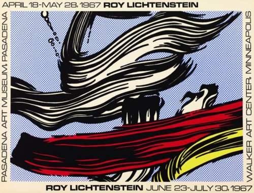 Roy Lichtenstein-Brushstrokes-1967