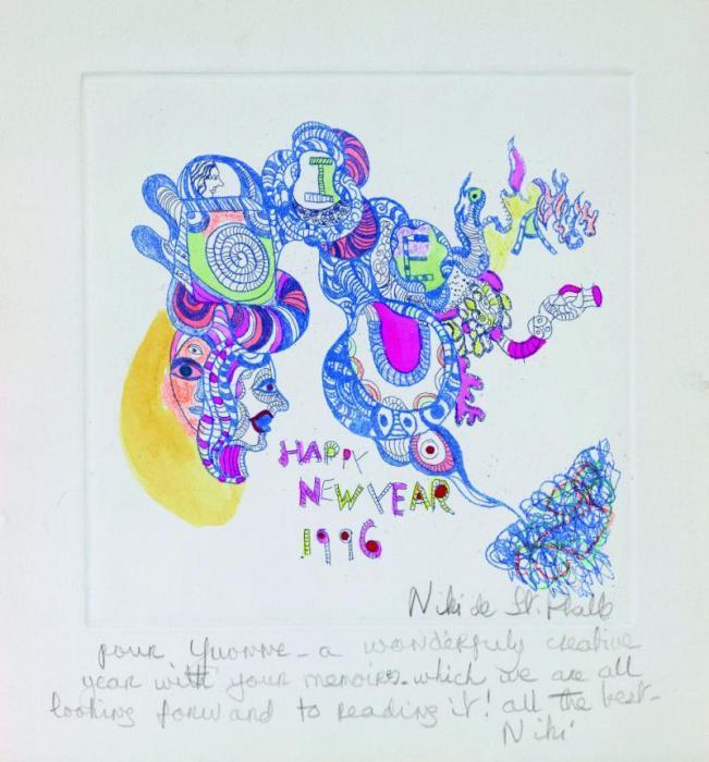 Niki de Saint Phalle-Happy New Year-1996