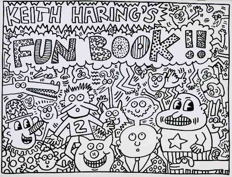 Keith Haring-Keith Haring - Fun Book-1985
