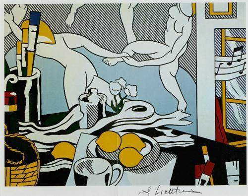Roy Lichtenstein-Artist's studio, The Dance-