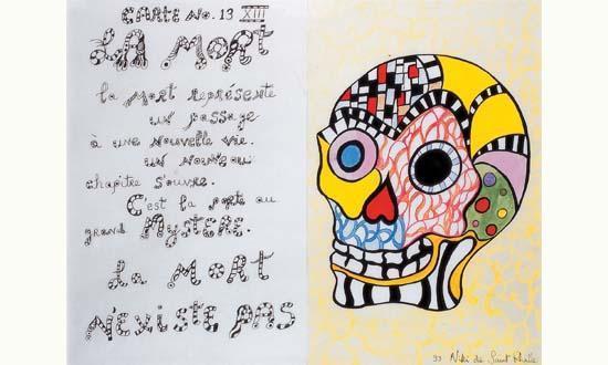 Niki de Saint Phalle-La mort-1993