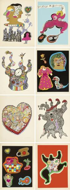 Niki de Saint Phalle-Nana Power-1970