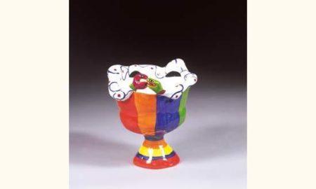 Niki de Saint Phalle-Vase au serpent, (Vase au serpent (Vase with Snake))-1980