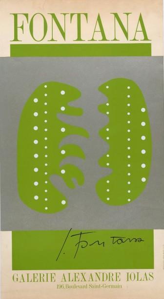Lucio Fontana-Sans titre-1966