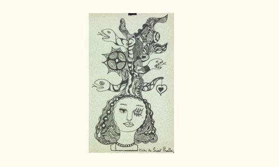Niki de Saint Phalle-La femme aux serpents-