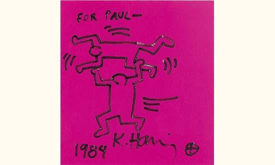 Keith Haring-Keith Haring - For Paul-1984