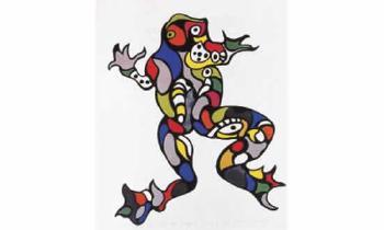 Niki de Saint Phalle-La grenouille-1995