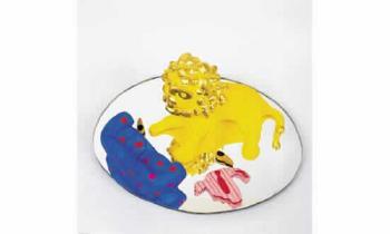 Niki de Saint Phalle-Le repas du lion-