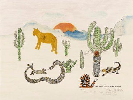 Niki de Saint Phalle-Chief White Cloud To The Rescue-1975