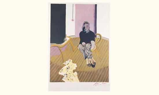 Francis Bacon-Etude pour un autoportrait-1973