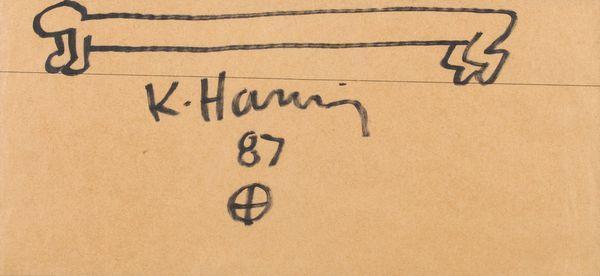 Keith Haring-Keith Haring - Sans titre-1987