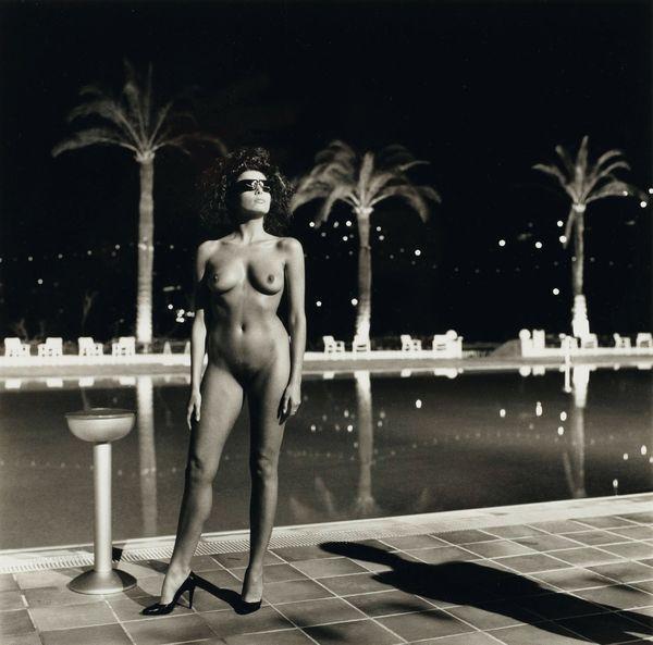 Helmut Newton-Pool Old Beach Hotel Monte Carlo-1981