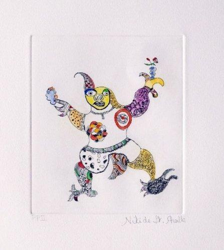 Niki de Saint Phalle-Le clown-1998
