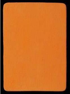 Yves Klein-Monochrome orange - M 104-1956
