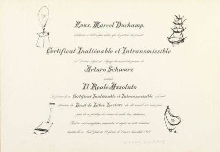 Marcel Duchamp-The Oculist Witnesses-1968