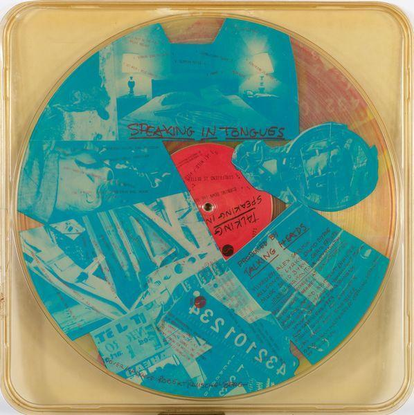 Robert Rauschenberg-Robert Rauschenberg - Speaking in tongues (Talking Heads Record)-1983