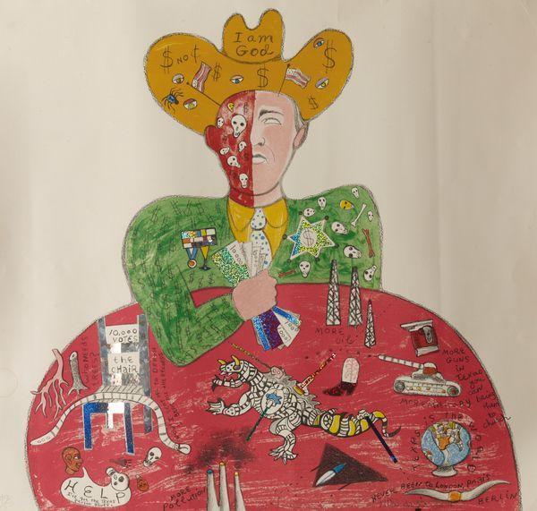 Niki de Saint Phalle-I'm god-2000