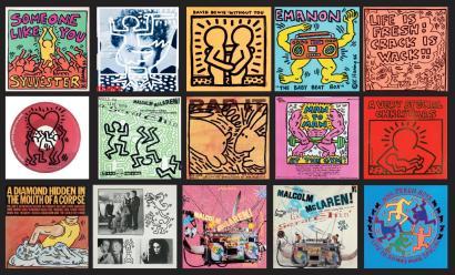 Keith Haring-Keith Haring -Pochettes De Disque-