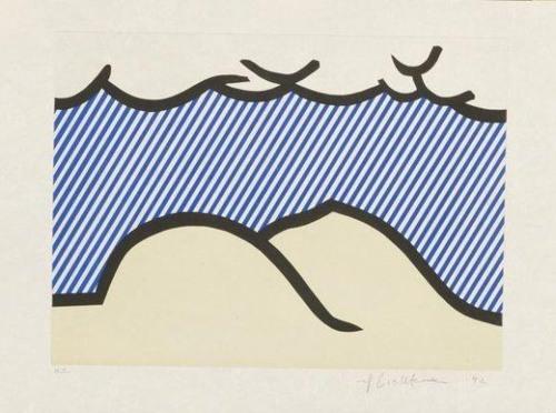 Roy Lichtenstein-De Denver au Montana, Depart 27 mai 1972-1992