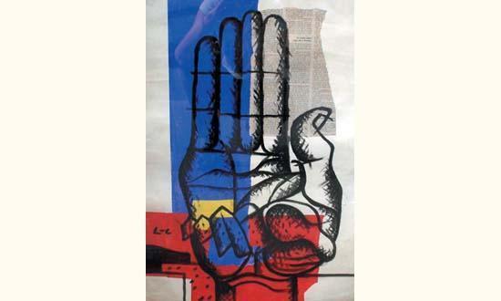Le Corbusier-La main-1954