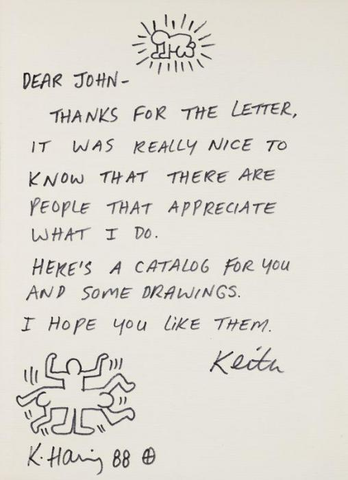 Keith Haring-Keith Haring - Dear John-1988