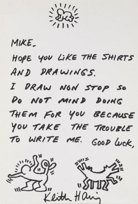 Keith Haring-Keith Haring - Mike-1988