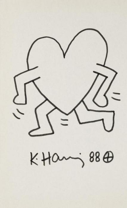 Keith Haring-Keith Haring - Sans titre-1988