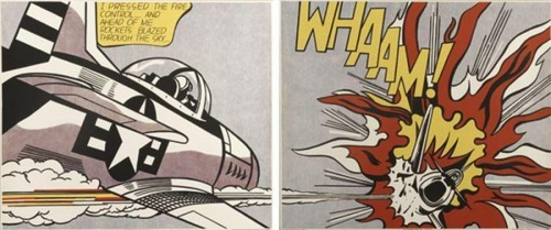Roy Lichtenstein-Whaam!-1967