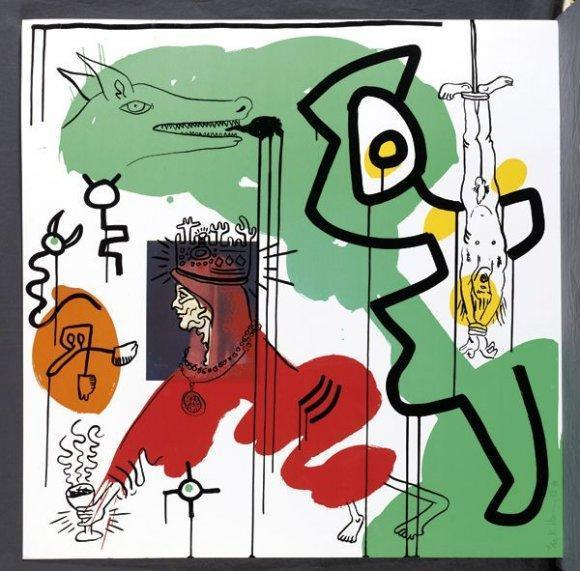Keith Haring-Keith Haring - Apocalpse-1988