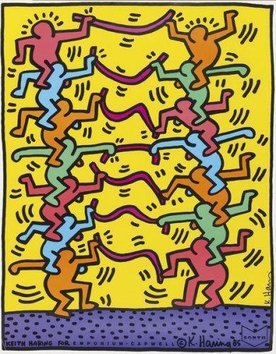 Keith Haring-Keith Haring - Emporium Capwell-1985