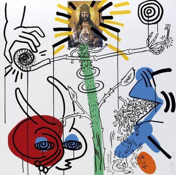 Keith Haring-Keith Haring - Apocalypse 10-