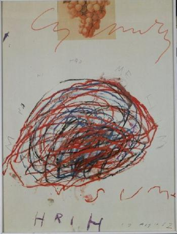 Cy Twombly-Affiche-