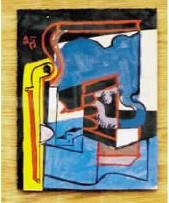 Le Corbusier-Nature morte au pichet-1945