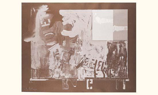 Jasper Johns-Passage II-1966