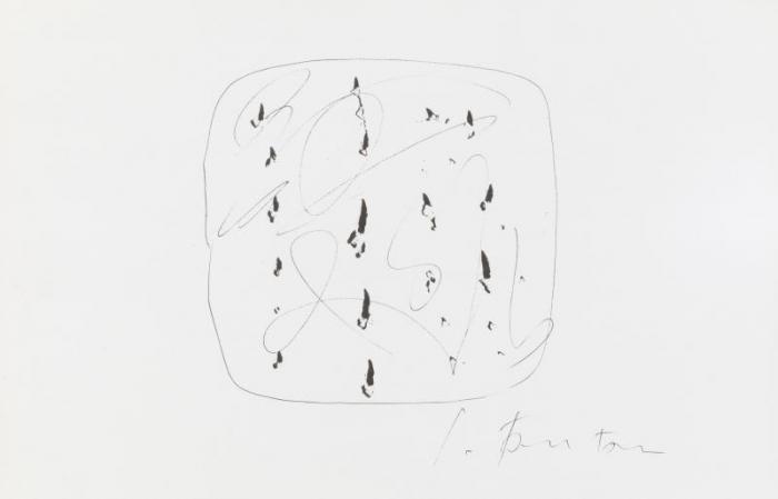 Lucio Fontana-Sans Titre-1967