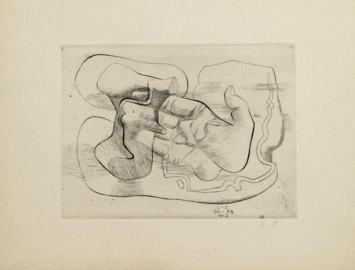 Le Corbusier-Les Mains-1948