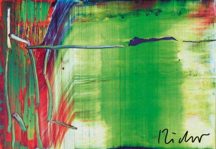 Gerhard Richter-Abstraktes Bild 858-1 (Abstract Painting 858-1)-1999